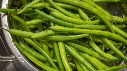 Some washed green beans. PA Photo/thinkstockphotos