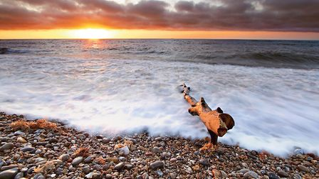 Winning Sounds of Suffolk entry Sunrise on the Suffolk Coast. Picture: JAMES STANNARD
