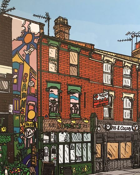 Banners, Park Road, by Zoom Rockman