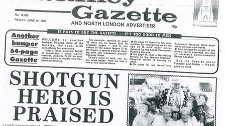 Gazette 20 June 1986