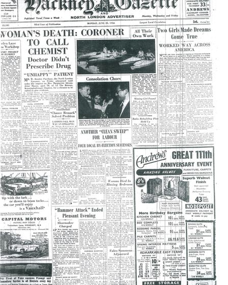 Gazette 25 June 1956