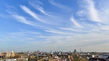 What price this view? A mere �600,000 (within budget for a Help to Buy London government loan)
