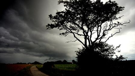 This shot capturing ominous storm clouds over Kessingland has won The Journal's Picture of the Week.