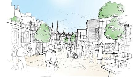 The vision for Avenue Mews from Place-Make architects and planners