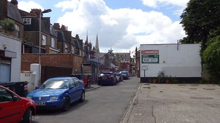 Avenue Mews as it is now