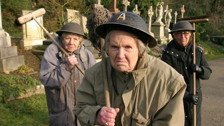 """Book describes """"Mum's Army"""" at Highgate Cemetery in 2006. Photo: Nigel Sutton"""