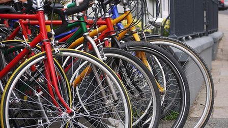 Where to put the bike is a perennial problem for north London cyclists