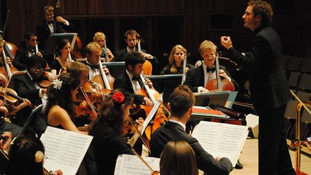 The Orion Orchestra. Picture: Eric Richmond
