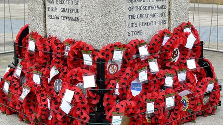 Lowestofts annual Service of Remembrance will once again be held at the War Memorial on Royal Plain.