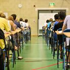 Students sit exams. Picture: Ben Birchall/PA