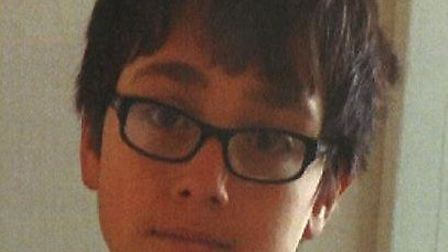 Omar Bartocci, 13, has been found safe and well after going missing last Wednesday
