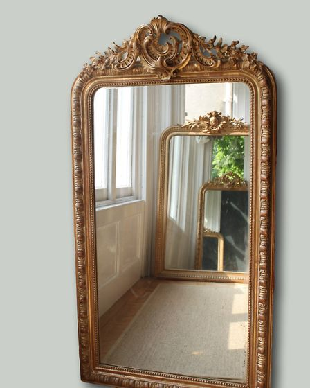 Decorative Large Antique French Mirror, �1,295, The Vintage Trader (THE MINT LIST)