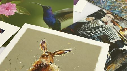 Cards for Good Causes have set up shop in Southwold Arts Centre. Photo Courtesy of Cards for Good Ca