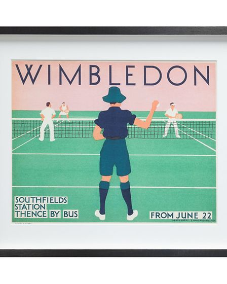 London Transport Museum, Wimbledon Framed Print, 42 x 50cm. 110, available from John Lewis. PA Photo