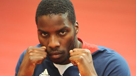 Stoke Newington heavyweight Lawrence Okolie, who has been selected for the GB Olympic squad