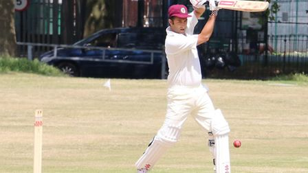 Cyrus Mehta hit 27 for The Camel in their win over Bloomsbury Royals