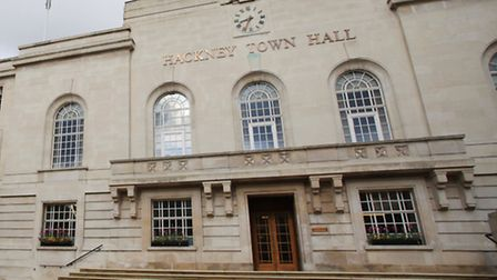 Hackney Town Hall in Mare Street.