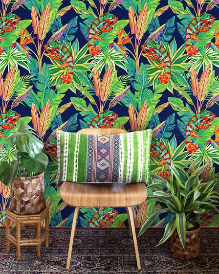 Chameleon wall mural 7076, £139, available from Pixers. PA Photo/Handout