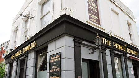 The Prince Edward pub is 150 years old (Picture: Dieter Perry)
