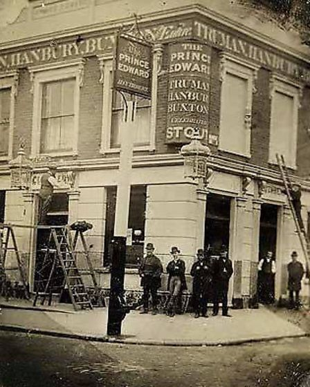 The Prince Edward when it opened in 1866