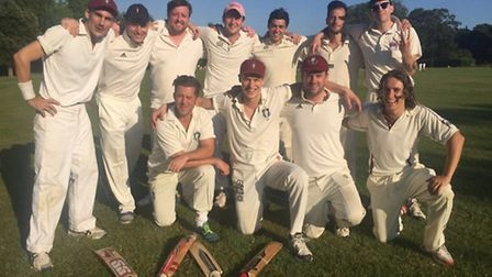 The victorious Bloody Lads team