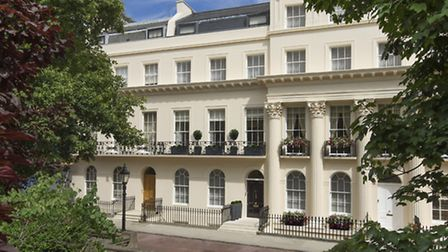 What could be grander than a home on Chester Terrace?