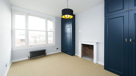 This Parliament Hill flat mixes period features with ultra-modern finish