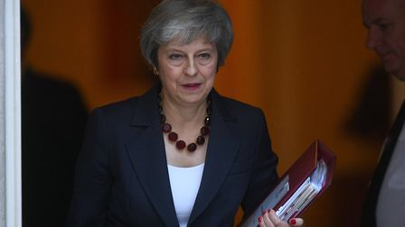 Prime minister Theresa May faces a perilous period to get her Brexit deal passed Photo: PA / Victoria Jones