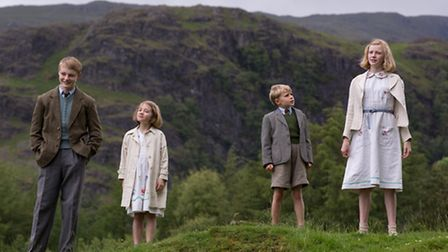 Orla Hill (R) in Swallows and Amazons
