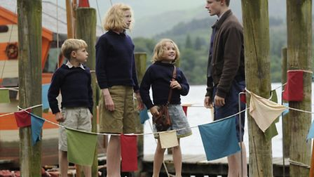 Orla Hill as Susan in Swallows and Amazons. The film is out on August 19
