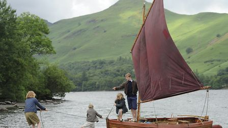 Filming for Swallows and Amazons, where Orla says she and her co-stars were frequently left alone on