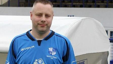Wingate & Finchley supporter Simon Swingler