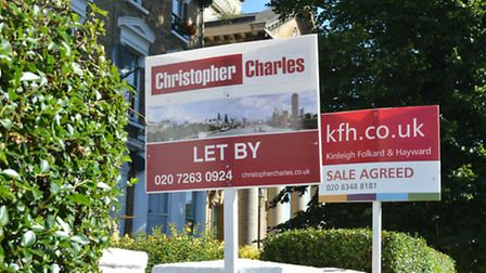 Rents in London have dropped by 0.5 per cent