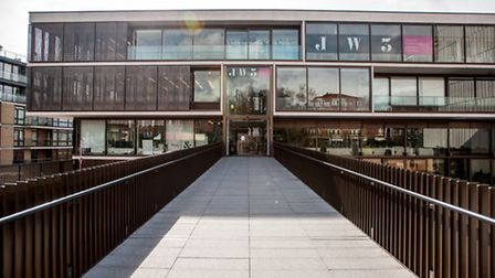 The JW3 in Finchley Road, where the woman took refuge. Picture: Ezra Photography Ltd