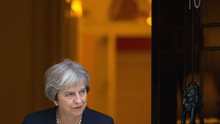 Theresa May could be toppled after Brexiteers rounded on the PM. Photograph: PA / Dominic Lipinski.