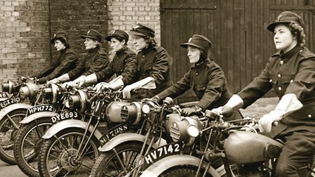Women like Maisie Spooner in the Auxiliary Fire Service during the Second World War (Picture: London