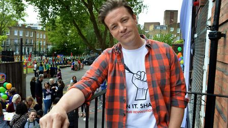 The perils of being a celebrity chef: Jamie Oliver (Picture: Polly Hancock)