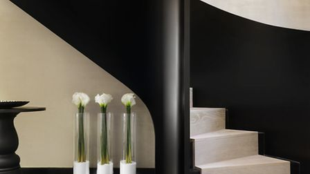 The bedroom is decked out in distinctive Kelly Hoppen tones (Image: PA Photo/Handout)