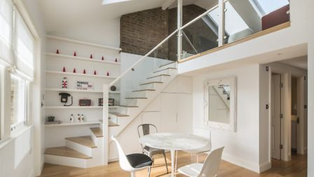 This Primrose Hill rental has particularly well planned living spaces