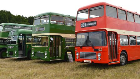 The land was used for the first time in July at the museum's Eastern Coach Works weekend. Picture: M