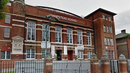 Hampstead School is in Westbere Road (Pic credit: Google streetview)