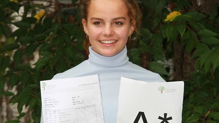 Tabitha Oakley-Brown, who earned five A*'s and four A's