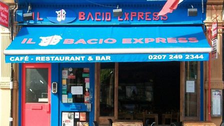 Mouse droppings were found throughout Il Bacio Express