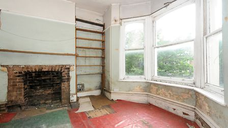 You could strip and revarnish the floorboards or fit a brand new floor