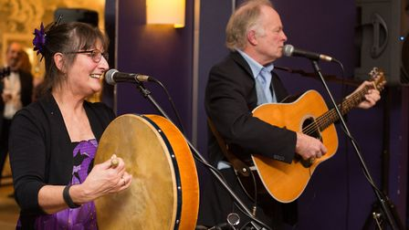 Penny and Stuart Mack will be joined by fellow songwriter Martin Lovett at Hungate Church, in Beccle
