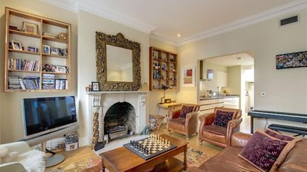 The £7,000/month maisonette is available furnished or unfurnished