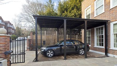 Frognal property with a car elevator for rent for �7,950