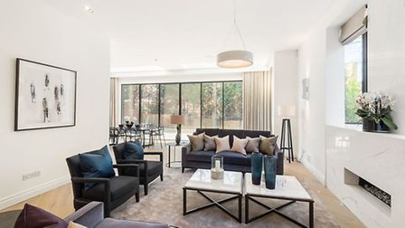 Luxury rentals are all the rage and this Hampstead pad is a real stunner