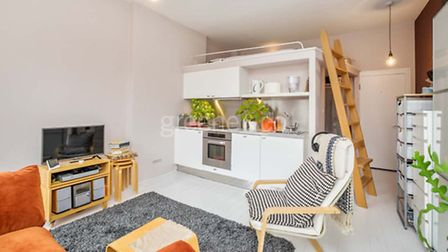Super compact living makes this studio flat very appealing