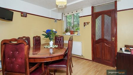 Ditch the chipboard and this property has potential
